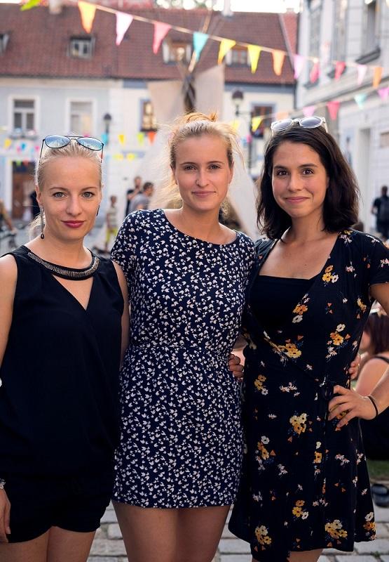 Foto: (zleva) Teresa Branna, Kamila Janovičová a Tereza Vítů