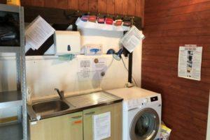 KCPST - Testování infekcí, zdravotní ošetření, praní prádla
